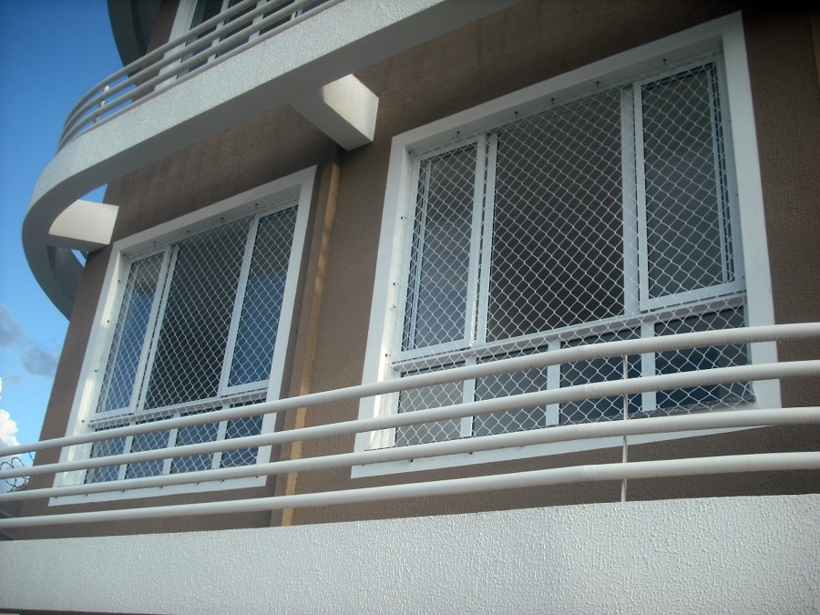 rede de protecao em janela Redes de Proteção para Janelas