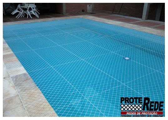 resde proteção para piscinas